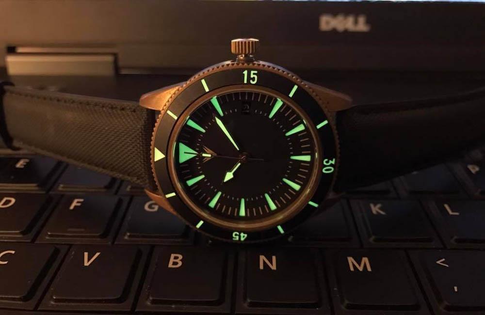 WatchWabi Rewind – Ventus Mori Brass 300M Diver